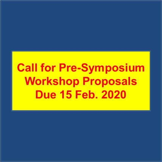 symposium call for workshop proposal 2020